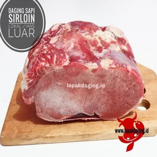 Foto Produk Daging Sapi Sirloin Lokal / Has Luar dari BERKAH JAYA MEAT