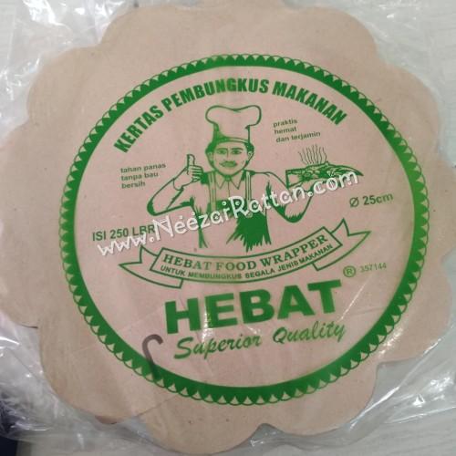Foto Produk kertas nasi alas piring rotan lidi cantik pembungkus nasi dari Neezar Rattan