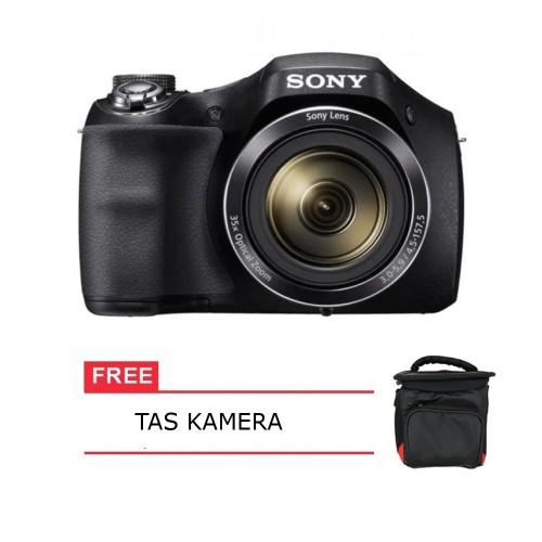 Foto Produk Kamera Sony Cyber-Shot DSC H300 20.1 MP 35x Optical Zoom Free Tas dari Multi Elektronik Shop