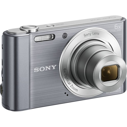 Foto Produk Kamera Sony Cybershot DSC W810 - 20MP - Silver Digital Saku Pocket dari Multi Elektronik Shop