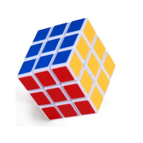 Foto Produk Rubik 3x3 Magic Cube 2 in 1 Base Putih dari Mmtoys Indonesia