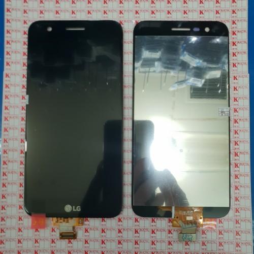 Foto Produk LCD + TOUCHSCREEN LG M250 K10 2017 ORIGINAL - Hitam dari KING sparepart