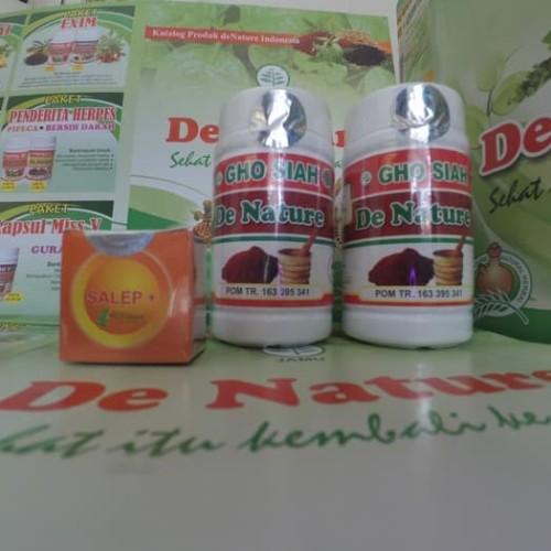Foto Produk Paket Ampuh Sipilis / Kencing Nanah - Salep Plus De Nature dari Pusat De Nature Herbal