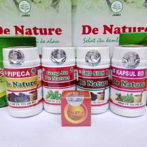 Foto Produk Obat Sipilis Herbal De Nature Paket Komplit Ampuh dari Pusat De Nature Herbal