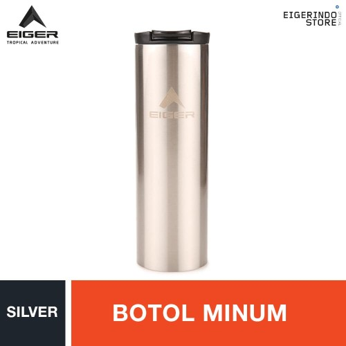 Foto Produk Eiger Voodoo Water Bottle - Silver dari Eigerindo Store