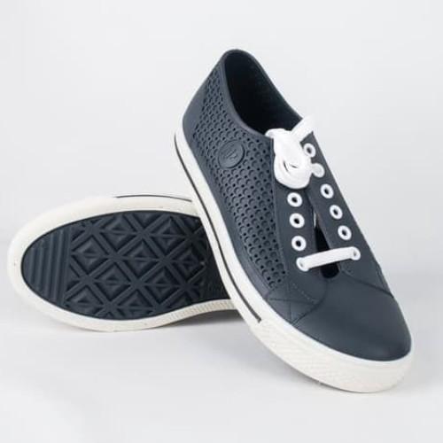 Foto Produk Sepatu ApStar AP Star By Ap Boots Karet PVC Casual Sneakers Biru Putih - Biru, 38 dari lbagstore