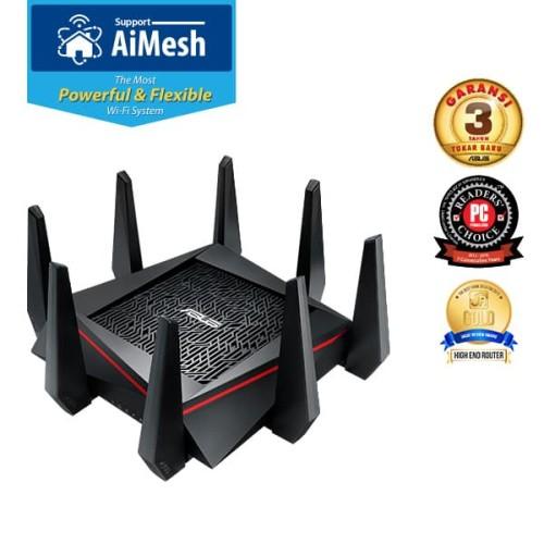 Foto Produk Asus RT-AC5300 Wireless AC 5300 Mbps Tri Band Gigabit Router dari dunia storage