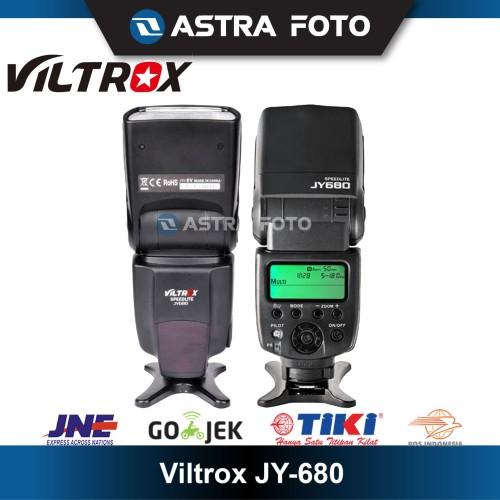 Foto Produk VILTROX JY-680A / JY680 A SPEEDLITE FLASH DSLR MIRRORLESS CANON SONY dari Astra Foto