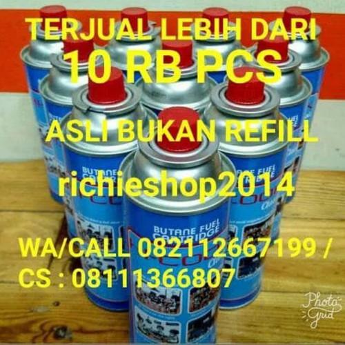 Foto Produk tabung gas mini hi-cook/ hi cook utk kompor portable dari richieshop2014