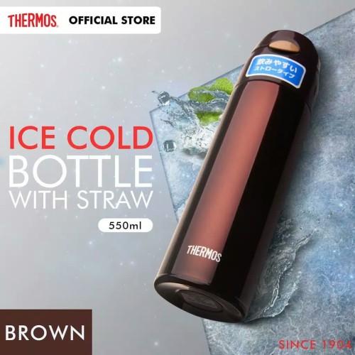 Foto Produk Thermos Ice Cold Bottle - Blue 500ml FHL-550 dari metha colektion