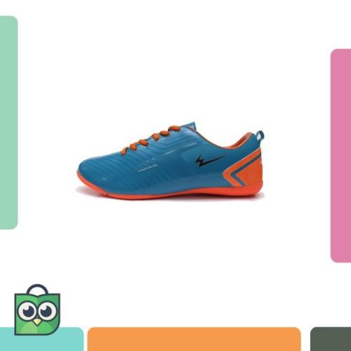 Foto Produk Sepatu Eagle Oscar Dark Tosca Orange – Futsal Shoes dari Masaki Shop.ID