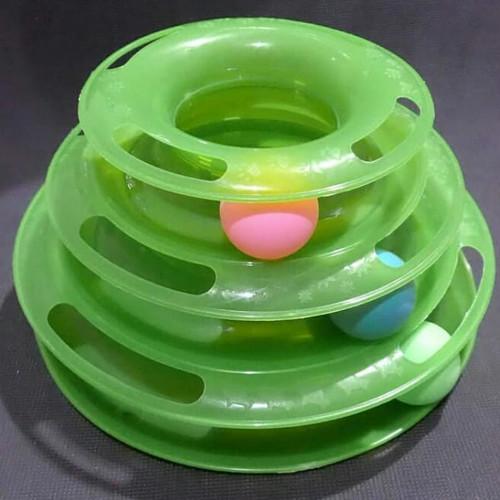 Foto Produk Cat Toys Happy Circle With Ball dari Cat House Aksesoris