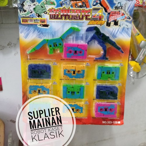 Foto Produk Mainan Robot Kaset 2 in 1 Klasik (Mainan Jadul) dari Suplier Mainan