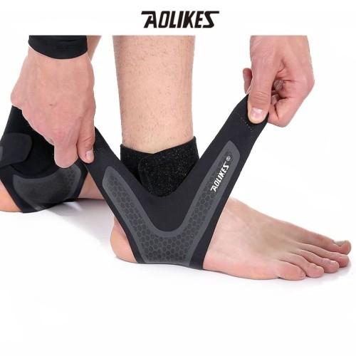 Foto Produk Aolikes 7130 Ankle Support Protector Elastic - Pelindung Kaki Gym - L KANAN dari Aolikes Indonesia