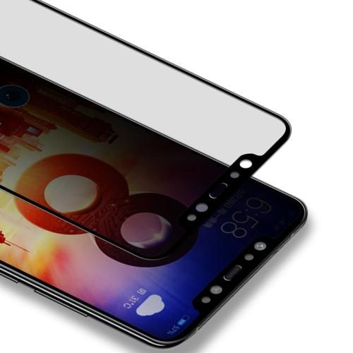 Foto Produk Tempered Glass Privacy 5D Xiaomi Mi 8 Mi8 Ambigo Original - Hitam dari Jagonya Case