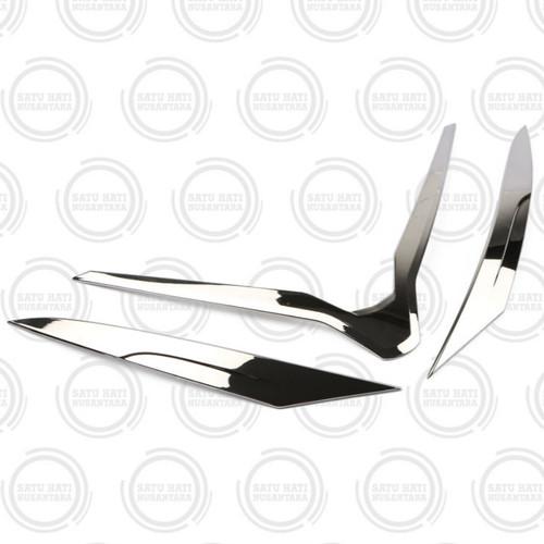 Foto Produk (PCX 150 Lokal) Honda Garnish Headlight Head Light/ Hiasan Lampu Depan dari Satu Hati Nusantara