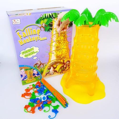 Foto Produk Tumblin Monkey Falling Game Ukuran Besar 28cm Mainan Family Anak dari Mmtoys Indonesia