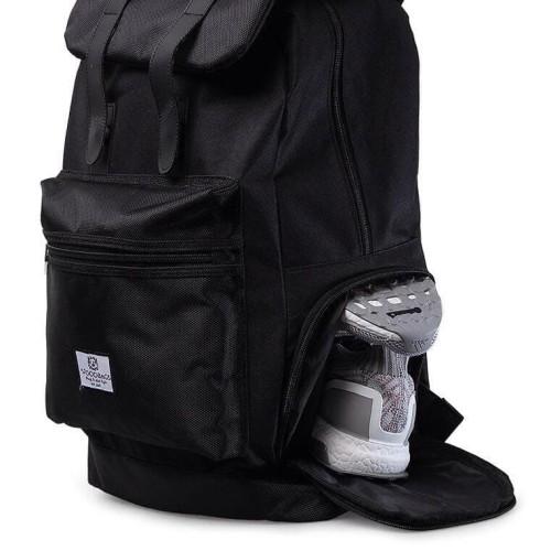 Foto Produk Woodbags Backpack Sportivo   Extra Shoes Slot!   Free Rain Cover! - Hitam dari Woodbags Store