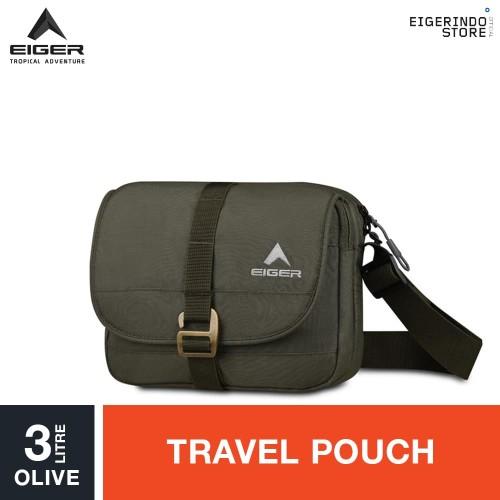 Foto Produk Eiger Descent Travel Pouch 3L - Olive dari Eigerindo Store