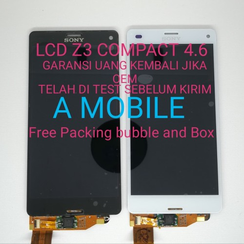 Foto Produk LCD Sony Xperia Z3 Compact Refurbish Z3 Mini Original - Hitam dari A Mobile