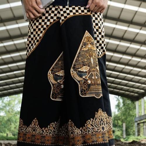 Foto Produk Sarung Batik Motif Gunungan Wayang Warna Kuning - Kuning dari Batik azka collection