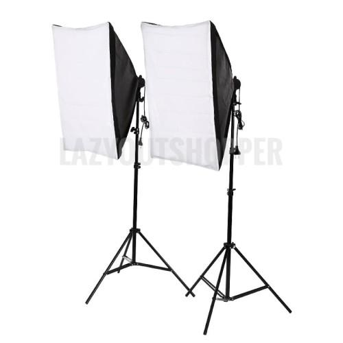 Foto Produk paket studio foto softbox dan light stand dari lazyoutshopper E Centre