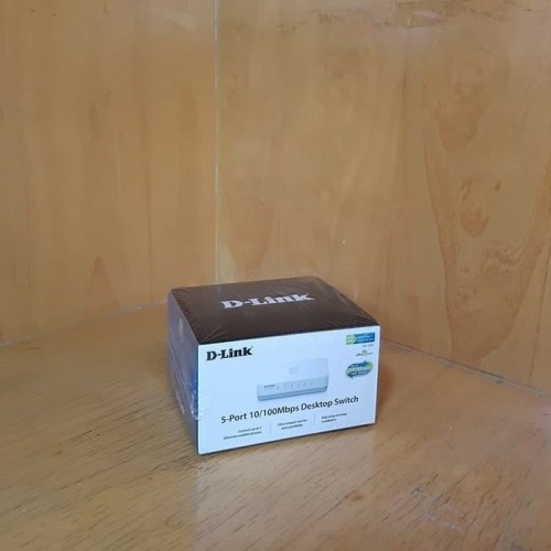 Foto Produk D-Link DES-1005C / DES-1005A 5 Port 100Mbps Dekstop Switch Compact dari Sono Suwito