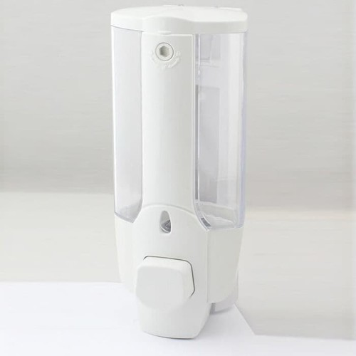 Foto Produk Single Soap Dispenser Tempat Sabun 1 tabung R-04 - Putih dari BABAMU