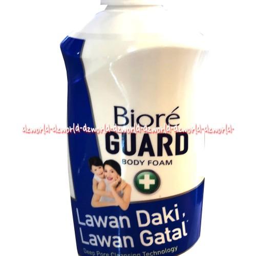 Foto Produk Biore Guard Lawan Daki Lawan Gatal 550ml Blue Biru Sabun Mandi Cair dari DZ-world