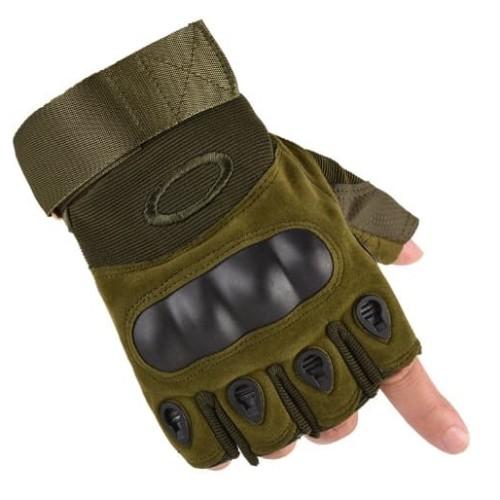 Foto Produk Sarung Tangan Oakley Glove Airsoft Gun Gloves Half Finger dari BUBUU 889