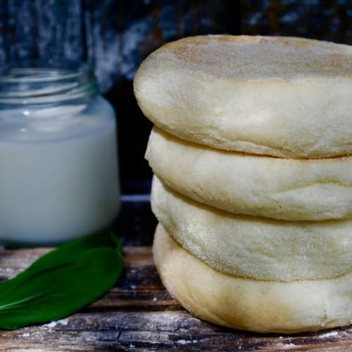 Foto Produk Roti / Bun English Muffin fresh from oven dari Grandpas Store