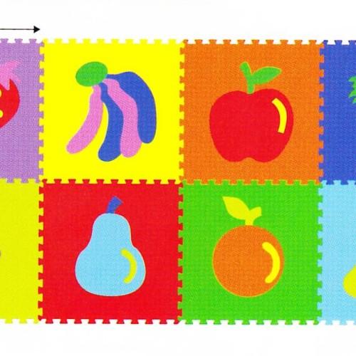 Foto Produk Mainan Anak - Matras / Evamat / Evamats / Buah-buahan - Fruits / Buah dari Toko DnD