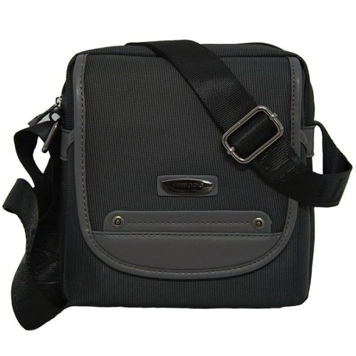 Foto Produk Real Polo Tas Selempang Trendy Tahan Air HHBA - Hitam dari Bag Solution