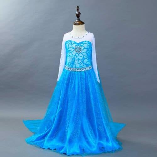 Foto Produk BAJU ANAK DRESS KOSTUM FROZEN ELSA (TERMURAH) - 140 dari Reiko Store