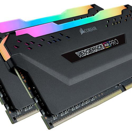 Foto Produk CORSAIR VENGEANCE RGB PRO DDR4 32GB (2x16GB) - CMW32GX4M2A2666C16 dari toko expert komputer