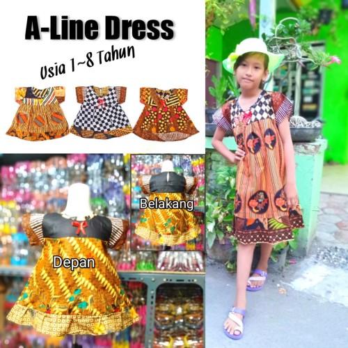Foto Produk Dress Katun Anak - 1-2 tahun dari IDR 19