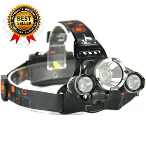 Foto Produk senter kepala T6 High Power Headlamp Cree XM-L T6 5000 Lumens dari om-jak