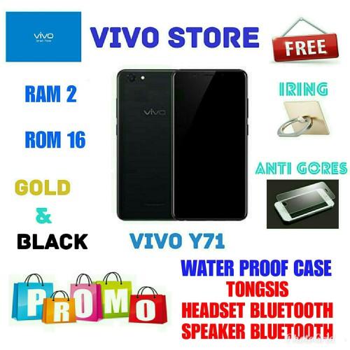 Foto Produk VIVO Y71 RAM 2/16 GARANSI RESMI VIVO INDONESIA 1TH - Hitam dari VIVO ST0RE