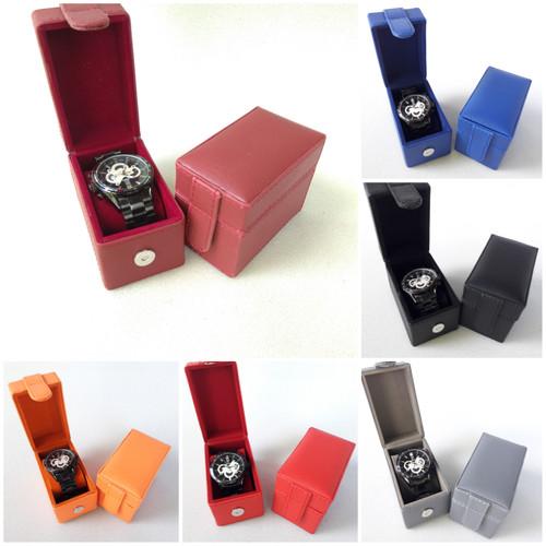 Foto Produk Kotak jam tangan isi 1 cocok buat souvenir/kado ulang tahun/gift - Hitam dari PJHANDYCRAFT