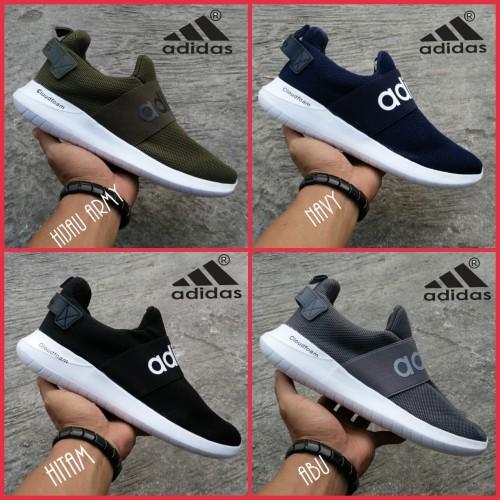 Foto Produk new sepatu pria adidas slop adidas slip on running olahraga dan gaul dari lexsnoe shoes