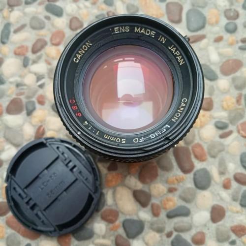 Foto Produk canon fd ssc 50mm f1.4 lensa manual dari Mugi Mugi Laris