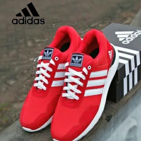 Foto Produk Sepatu Adidas Cloudfoam merah big size 45-49/jumbo/ukuran besar Murah - Merah, 47 dari kevin-khanza