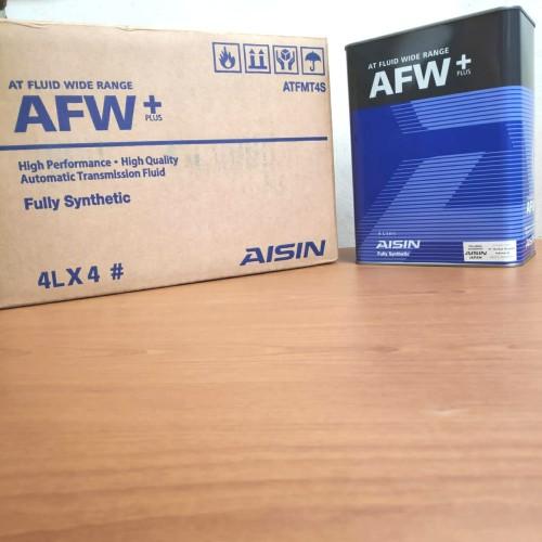 Foto Produk Oli Aisin Automatic Transmition AFW+ ATF MULTI 4 Ltr dari Indo Utama Otoparts