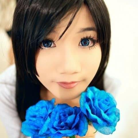 Foto Produk Softlens Geo Angel Blue (Biru) dari Geo Eyes