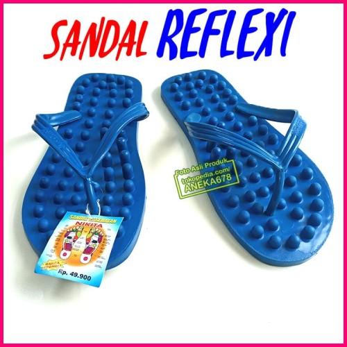 Foto Produk Sandal Jepit NIKITA REFLEKSI Terapi Pijat Kesehatan Akupuntur Kaki dari ANEKA 678