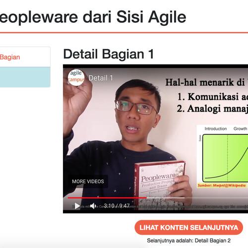 Foto Produk Ulasan Peopleware dari Sisi Agile dari Agile Campus