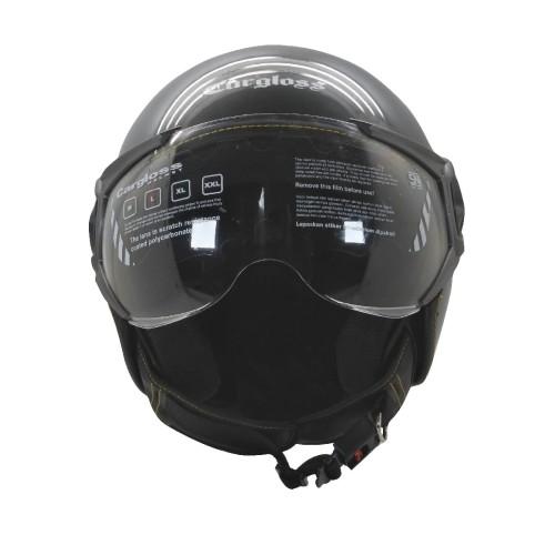 Foto Produk Helm Cargloss YR HC Ghotic Helm Half Face - Anchor Grey - XL dari Helm Cargloss
