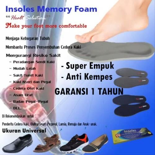 Foto Produk INSOLE SEPATU SPORT MEMORYFOAM dari Pratama Foam ID
