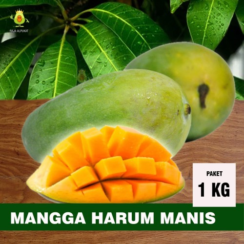 Foto Produk Mangga Harum Manis Kemasan 1 kg, khusus gojek dan grab dari RAJA ALPUKAT
