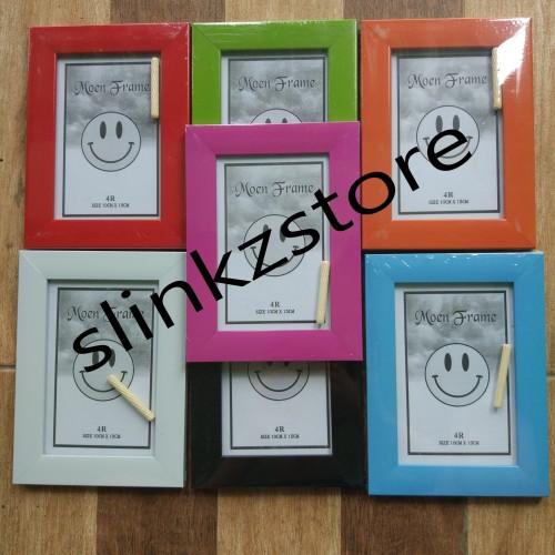 Foto Produk Bingkai / frame Foto 4R / figure ( 10cm x 15cm ) minimalis dari SlinkzStore